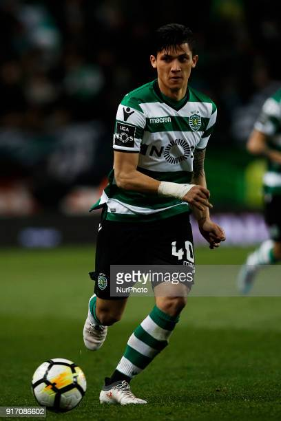Sporting's forward Fredy Montero in action during Primeira Liga 2017/18 match between Sporting CP vs CD Feirense in Lisbon on February 11 2017
