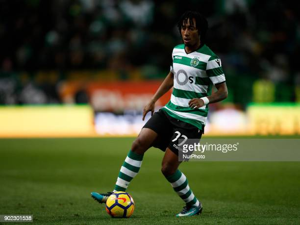 Sporting's forward Gelson Martins during Primeira Liga 2017/18 match between Sporting CP vs CS Maritimo in Lisbon on January 7 2017