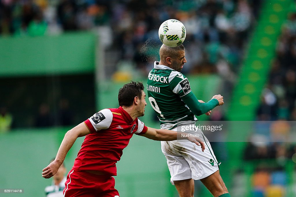 FBL-LIGA-POR-SPORTING-BRAGA : News Photo