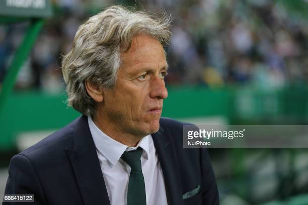 Sportings head coach Jorge Jesus from Portugal during Premier League 2016/17 match between Sporting CP and Boavista FC at Alvalade Stadium in Lisbon...