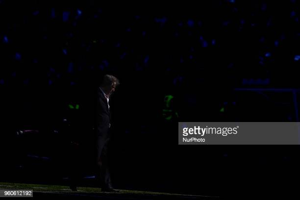 Sporting's head coach Jorge Jesus from Portugal during the Portugal Cup Final football match CD Aves vs Sporting CP at the Jamor stadium in Oeiras...