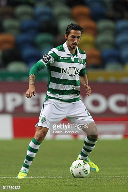 Sporting's midfielder Ezequiel Schelotto during the match between Sporting CP and Boavista FC for the Portuguese Primeira Liga at Jose Alvalade...