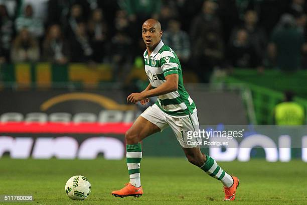 Sporting's midfielder Joao Mario during the match between Sporting CP and Boavista FC for the Portuguese Primeira Liga at Jose Alvalade Stadium on...