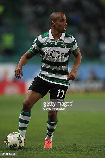 Sporting's midfielder Joao Mario during the match between Sporting CP and SL Benfica for the Portuguese Primeira Liga at Jose Alvalade Stadium on...