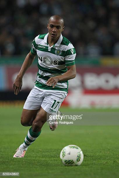 Sporting's midfielder Joao Mario during the match between Sporting CP and CS Maritimo for the Portuguese Primeira Liga at Jose Alvalade Stadium on...