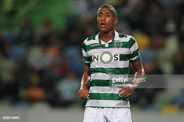 Sporting's midfielder Marvin Zeegelaar during the match between Sporting CP and Rio Ave FC for the Portuguese Primeira Liga at Jose Alvalade Stadium...