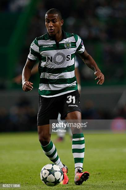 Sporting's midfielder Marvin Zeegelaar in action during Champions League 2016/17 match between Sporting CP vs Real Madrid in Lisbon on November 22...