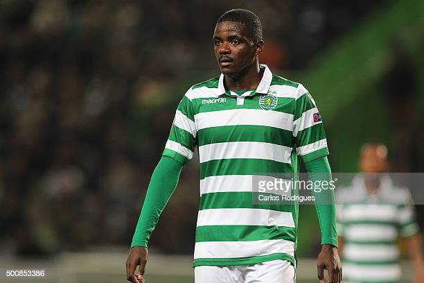 Sporting's midfielder William Carvalho during the match between Sporting CP and Besiktas JK for UEFA Europe League Group Round on December 10 2015 in...