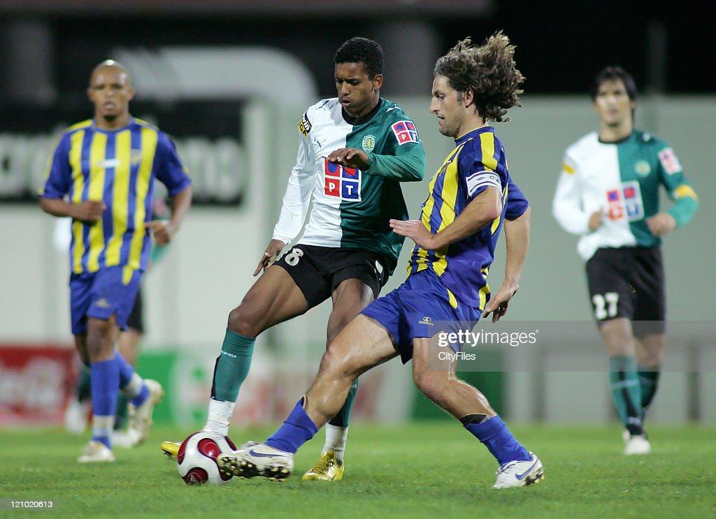 Portuguese Cup - Fourth Round - Sporting Lisbon vs União da Madeira - December 21, 2006 : News Photo
