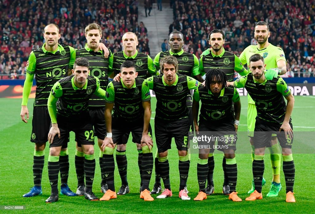 Atletico Madrid v Sporting CP - UEFA Europa League Quarter Final Leg One