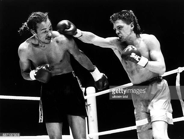 * Sportler Boxen D EMKampf gegen Crawford Ashley in Düsseldorf siegt nach Punkten und wird Europameister