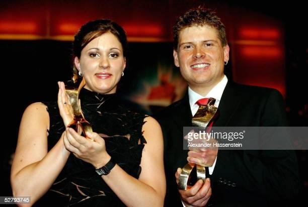 Sportler des Jahres 2003, Baden Baden; Hannah STOCKBAUER/Schwimmen, Sportlerin des Jahres2003 und Jan ULLRICH/Radsport, Sportlers des Jahres 2003