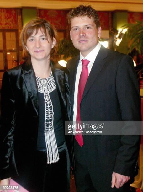 Sportler des Jahres 2003, Baden Baden; Jan ULLRICH/Radsport mit Frau Gaby WEIS