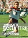 Sportler / Fussball D in einer Spielszene während der Begegnung Deutschland / Spanien im Soldier Field Stadion von Chicago im Rahmen der...