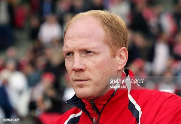 Sportler Fussball D Trainer Porträt