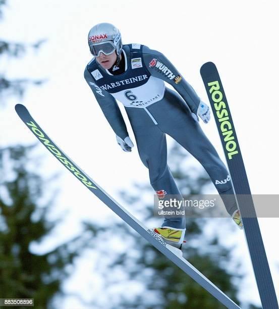 Sportler Skispringen D Skispringen in Titisee Neustadt