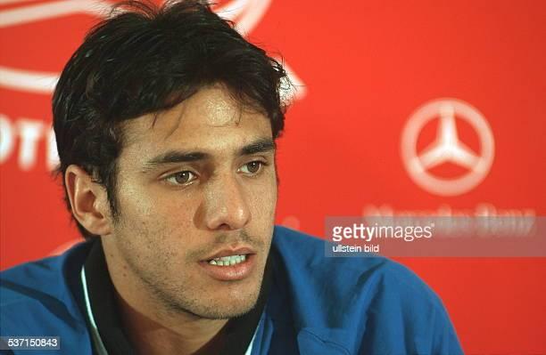 Sportler Tennis Argentinien Portrait Mai 1999