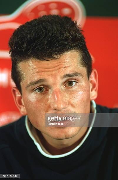 Sportler, Tennis Niederlande, Portrait, - Mai 1999