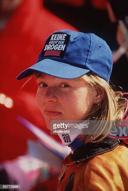 Sportlerin D Ski Alpin 1992