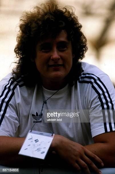 Sportlerin, Leichtathletik D, EM in Split, Kugelstossen: Porträt, - August 1990