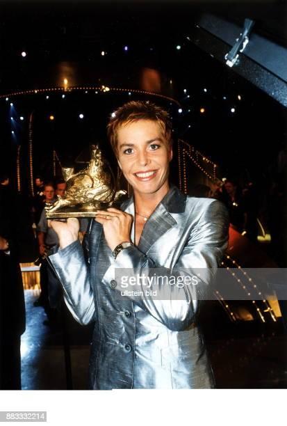 Sportlerin Leichtathletik D mit derr Goldenen Henne September 2000
