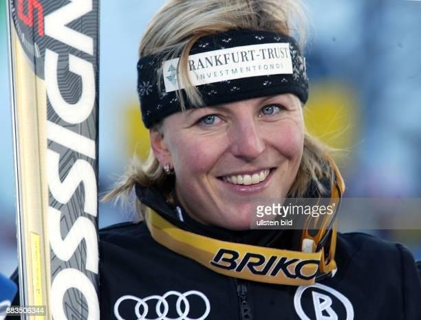 Sportlerin Ski alpin D Porträt