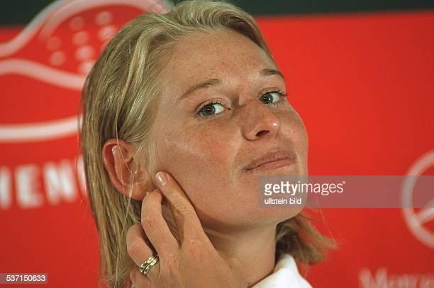 Sportlerin, Tennis Österreich, Portrait, - April 1999