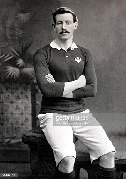 Sport/Rugby Union circa 1896 ARSmith who played for Oxford University and won international honours for Scotland at full back