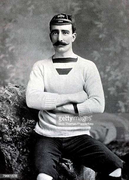 Sport/Rugby Union circa 1896 EGForrest Dublin Wanderers and Ireland He was a powerful forward who played many times for Ireland and as captain he...