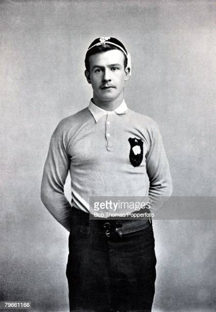 Sport/Rugby Union circa 1896 MSutcliffe Huddersfield and Yorkshire