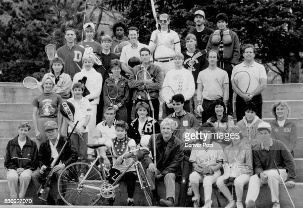 Sports 1 Mike Battaglia lacrosse 2 Terra Ann Malmstrom fencing 3 Brent Cutcliffe badminton 4 Annie Ricketts basketball 5 Ed Zimmerman bowling 6...