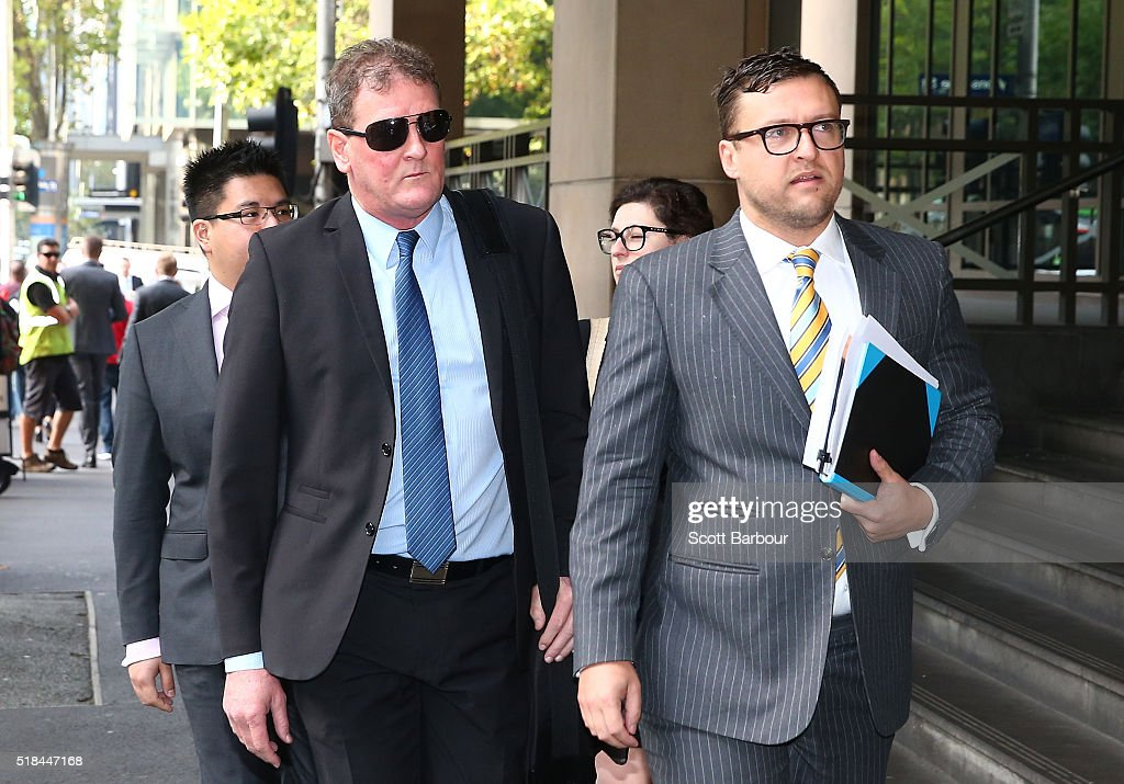Ricky Nixon Appears In Court : News Photo