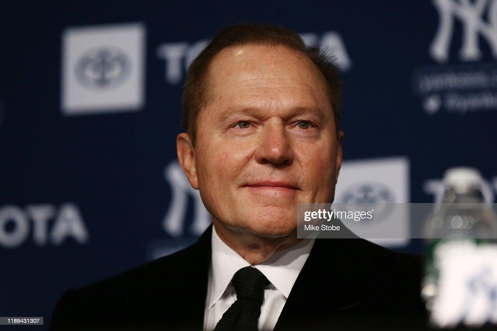 New York Yankees Introduce Gerrit Cole : News Photo