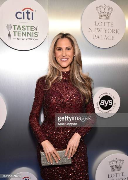 Sports anchor Andy Adler attends the Citi Taste Of Tennis gala on August 23 2018 in New York City