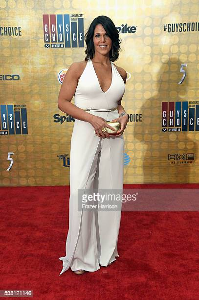 Sports Anchor Dana Jacobson attends Spike TV's 10th Annual Guys Choice Awards at Sony Pictures Studios on June 4 2016 in Culver City California