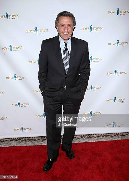 Sports anchor Len Berman attends the 2008 Boys Town New York Building Hope Gala at Capitale on November 20 2008 in New York City
