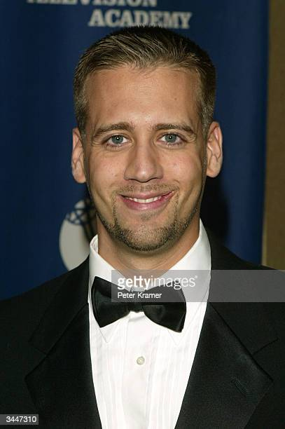 Sports announcer Max Kellerman attends the 25th Annual Sports Emmy Awards April 19 2004 in New York City