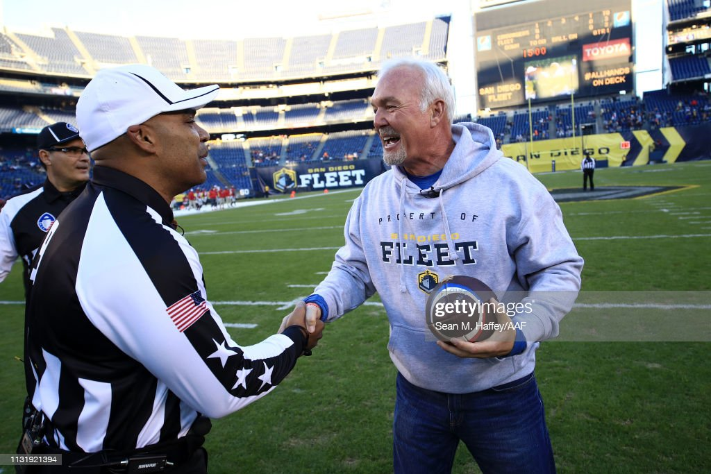 San Antonio Commanders v San Diego Fleet : News Photo