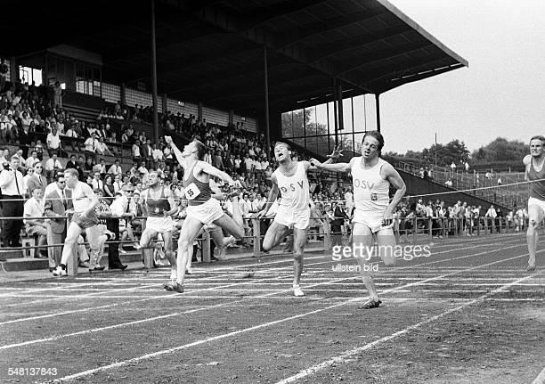 sports athletics Westphalian Championships in Athletics 1966 in Bochum Stadium at the Castrop Street former Ruhr Stadium nowadays rewirpowerSTADION...