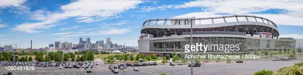 Sports Authority Stadium and Denver downtown