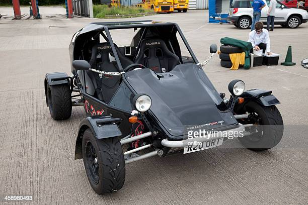 Sports buggy at autocross rally event
