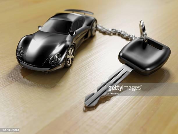 Sports Car Key Ring