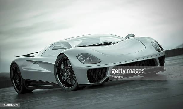sports car - muscle car stock photos and pictures