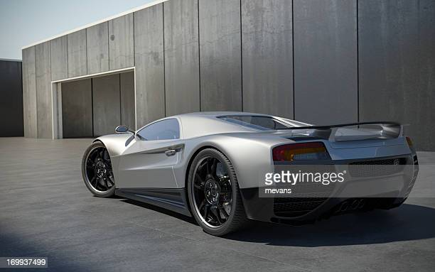 sports car - prestige car stock pictures, royalty-free photos & images