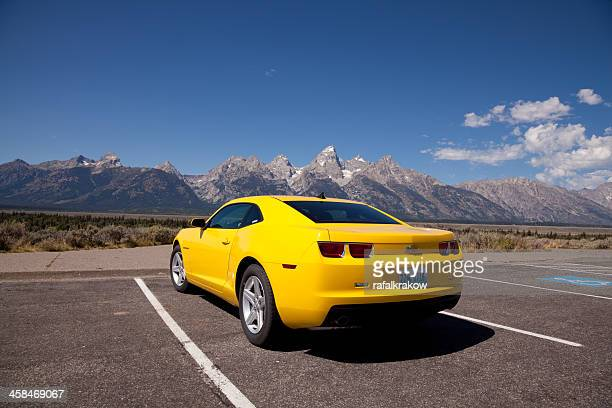 sports car - chevrolet stock pictures, royalty-free photos & images