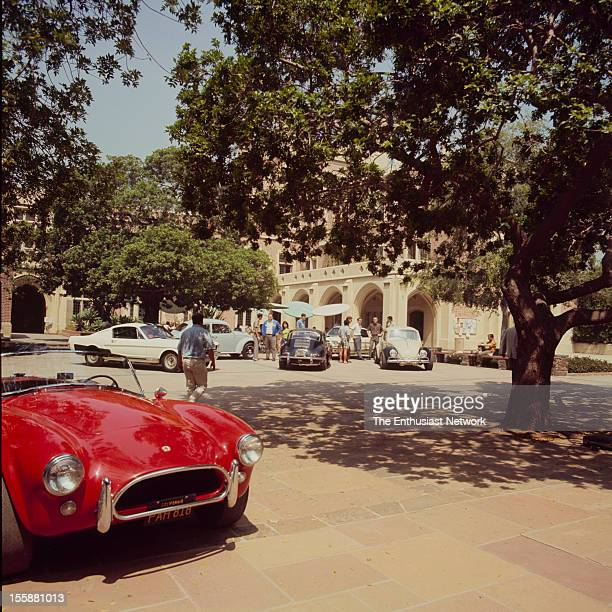 Sports Cars at UCLA Campus