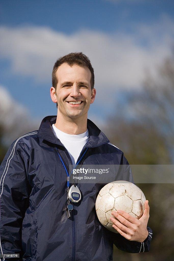 Sports coach : Stock Photo