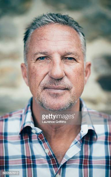 Sports commentator and former cricketing legend Ian Botham is photographed on July 2 2015 in York England