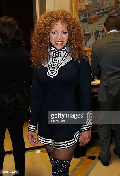 Sports commentator Donna Richardson Joyner attends Aretha Franklin's 72nd Birthday Celebration on March 22 2014 in New York City