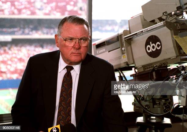 KEITH JACKSON IN BOOTH 8/27/93
